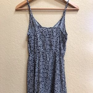 H&M Dresses - H&M (Divided) Navy Patterned Dress